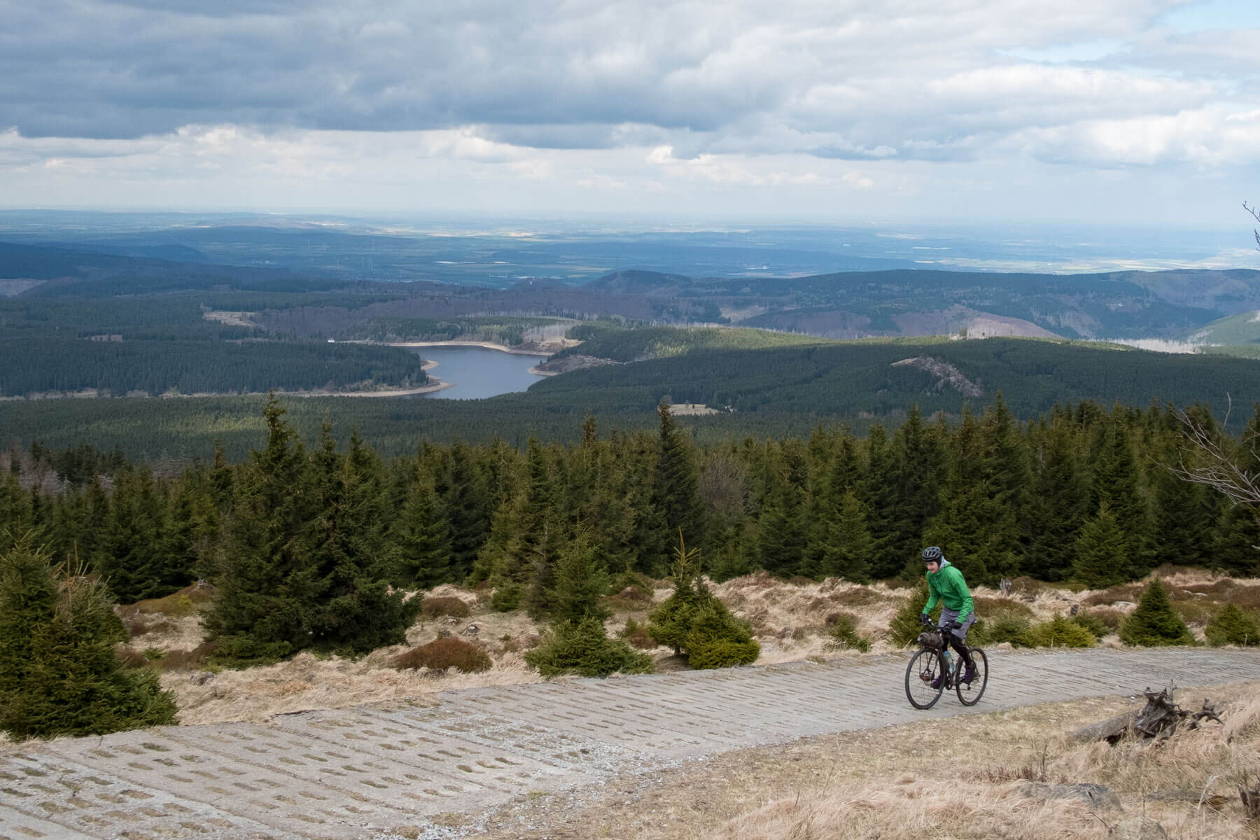 Riding the Brocken by bicycle