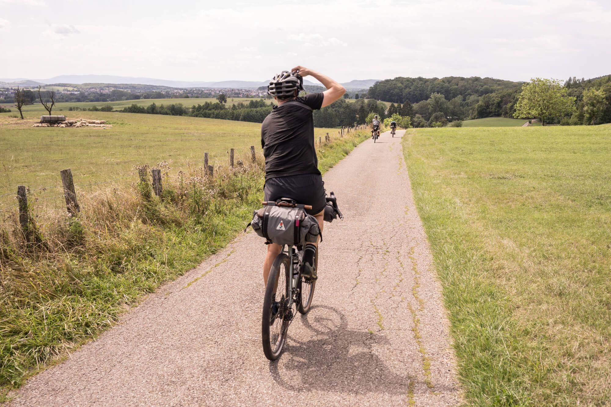 Bikepacking France Traversée du Massif Vosgien TMV